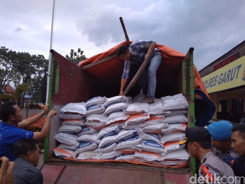 50 Kuintal Beras Sejahtera di Garut Diduga Diselewengkan