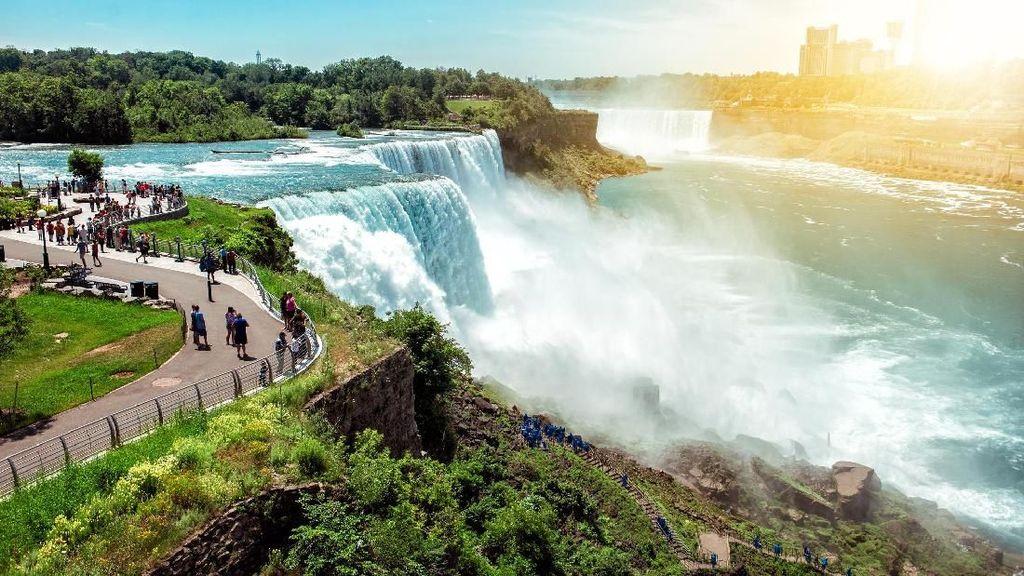 Foto: 6 Air Terjun Paling Cantik di Dunia