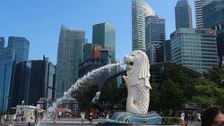 Wow, Ini yang Terjadi Saat Malam Selimuti Singapura