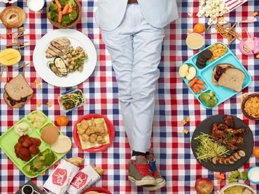Kalau ini makanan yang Cooper Norman makan. Bocah ini berusia 10 tahun dari Altadena, Calif. (Foto: Gregg Segal Via Time Magazine)