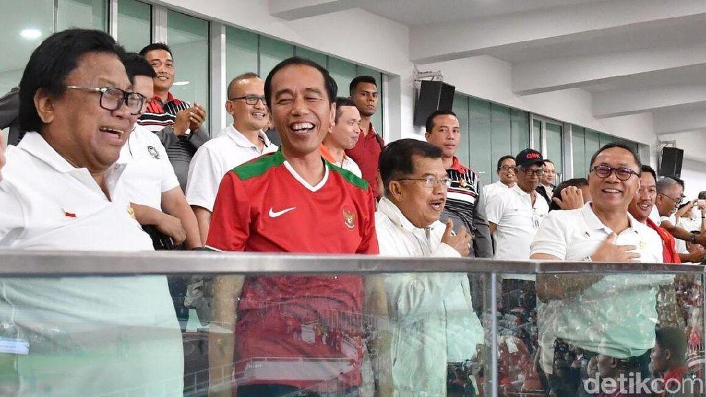 Jokowi Puas dengan Hasil Renovasi SUGBK