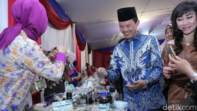 Foto: Walikota Palembang, Harnojoyo (Raja Adil/detikTravel)