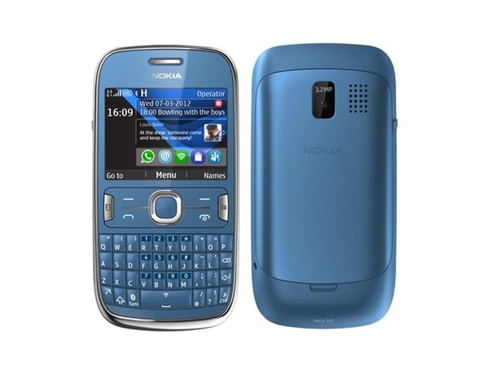 Salah satu model Nokia Asha. Foto: istimewa