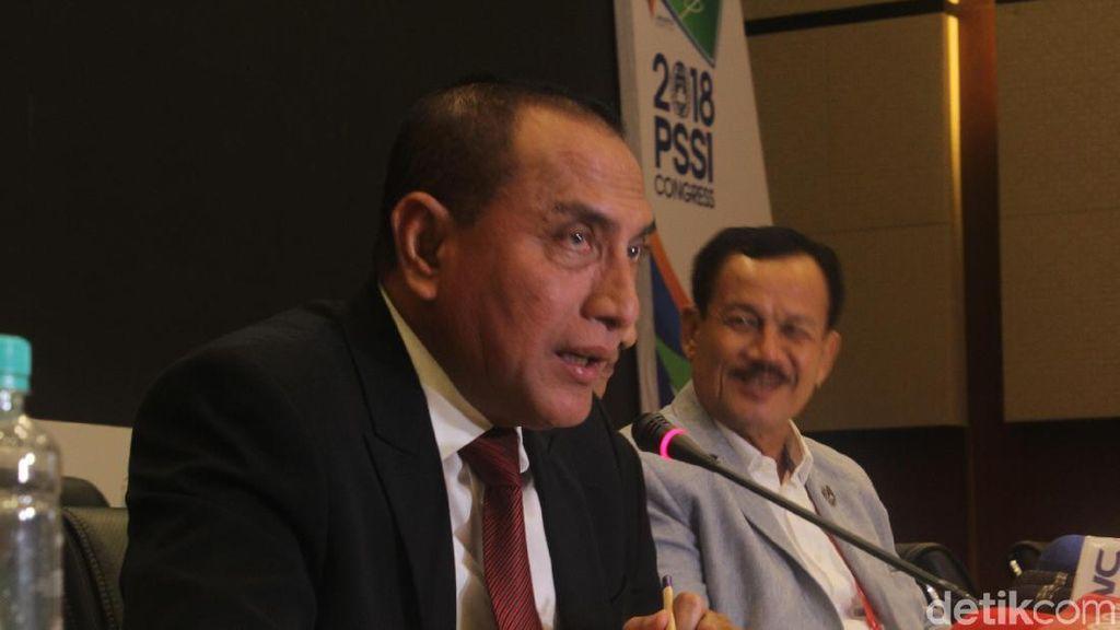 Edy Rahmayadi di Antara PSSI dan Calon Gubernur
