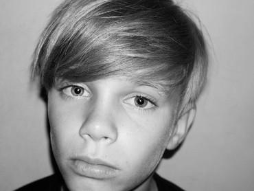 Ini Romeo, anak kedua Beckham. (Foto: Instagram/romeobeckham)