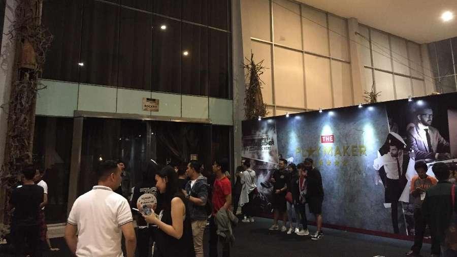 Keseruan di Konser Liam Gallagher di Jakarta
