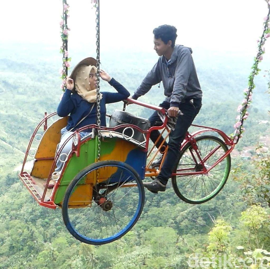 Yuk, Lihat Aneka Rupa Becak di Indonesia