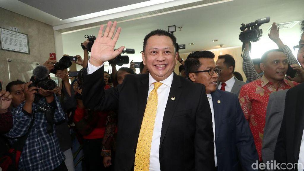 Ini Pidato Lengkap Senayan Pelangi Indonesia Ketua DPR Bamsoet
