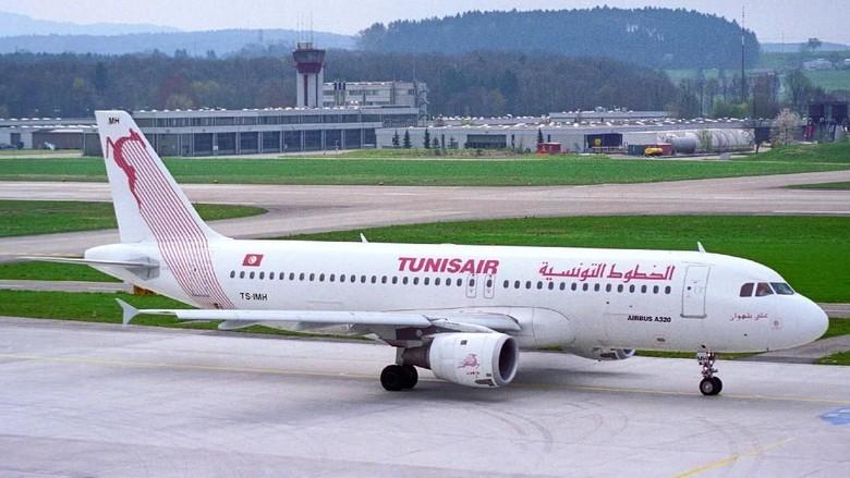 Foto: Ilustrasi pesawat Tunis Air (tunisair.com)