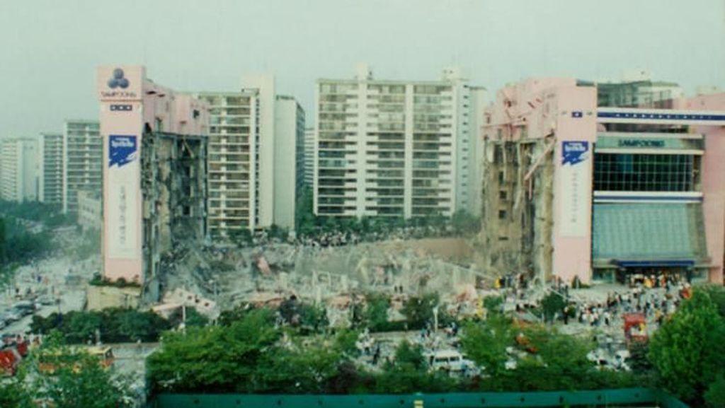 Ngeri, Ini Deretan Gedung yang Alami Insiden Ambruk