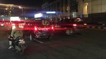 Jalan Dibuka, Lalin di SCBD Pasca Selasar BEI Ambruk Kembali Normal