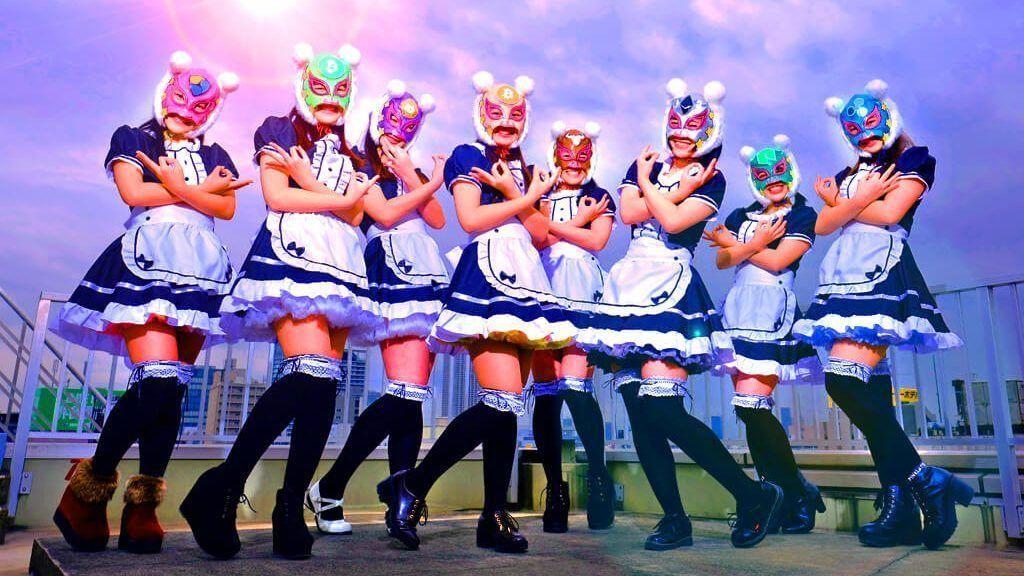 Unik! di Jepang Ada Girl Band Bertema Uang Digital