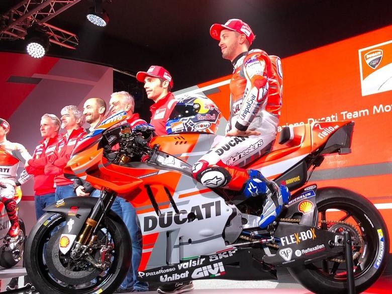 Ducati Luncurkan Desmosedici 2018