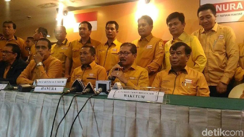 Gelar Munaslub, Hanura Kubu Ambhara Klaim Dapat Restu Wiranto