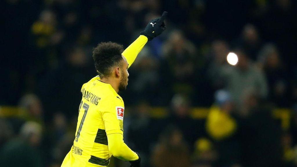 Dortmund Beri Lampu Hijau Aubameyang ke Arsenal