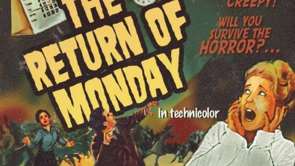 Meme Horor Hari Senin yang Bikin Nyengir