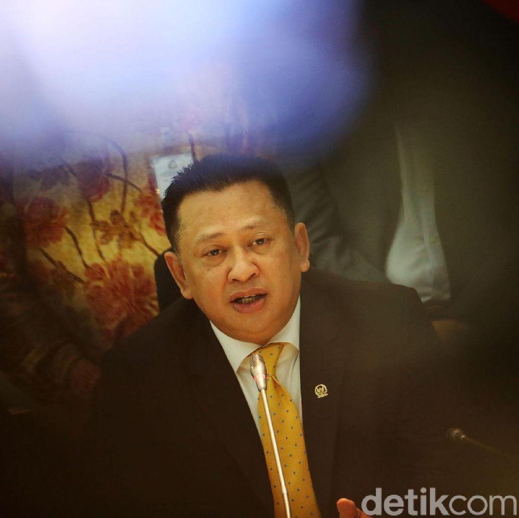 Revisi UU MD3, Bamsoet: Pimpinan DPR Diatur Proporsional untuk 2019