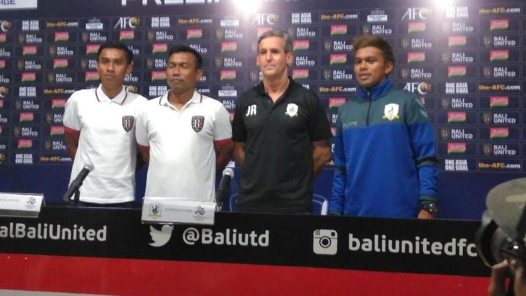 Hadapi Tampines Rovers, Bali United Tak Akan Berjudi