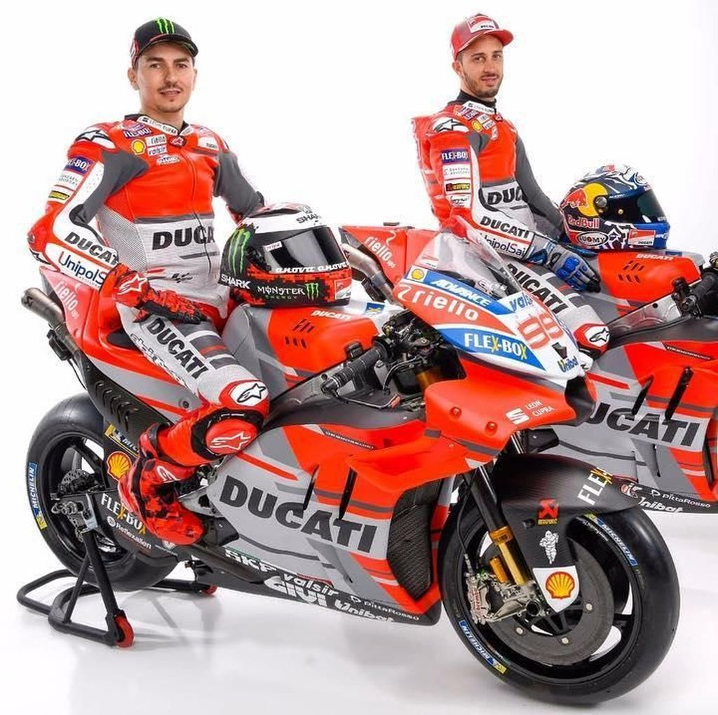 Ducati Janjikan Desmosedici 2018 Lebih Bertenaga dan Mudah Ditunggangi