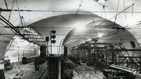 Penampakan foto lawas Mail Rail London