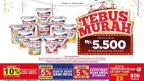 Tebus Murah Yoghurt di Awal Minggu Transmart Carrefour
