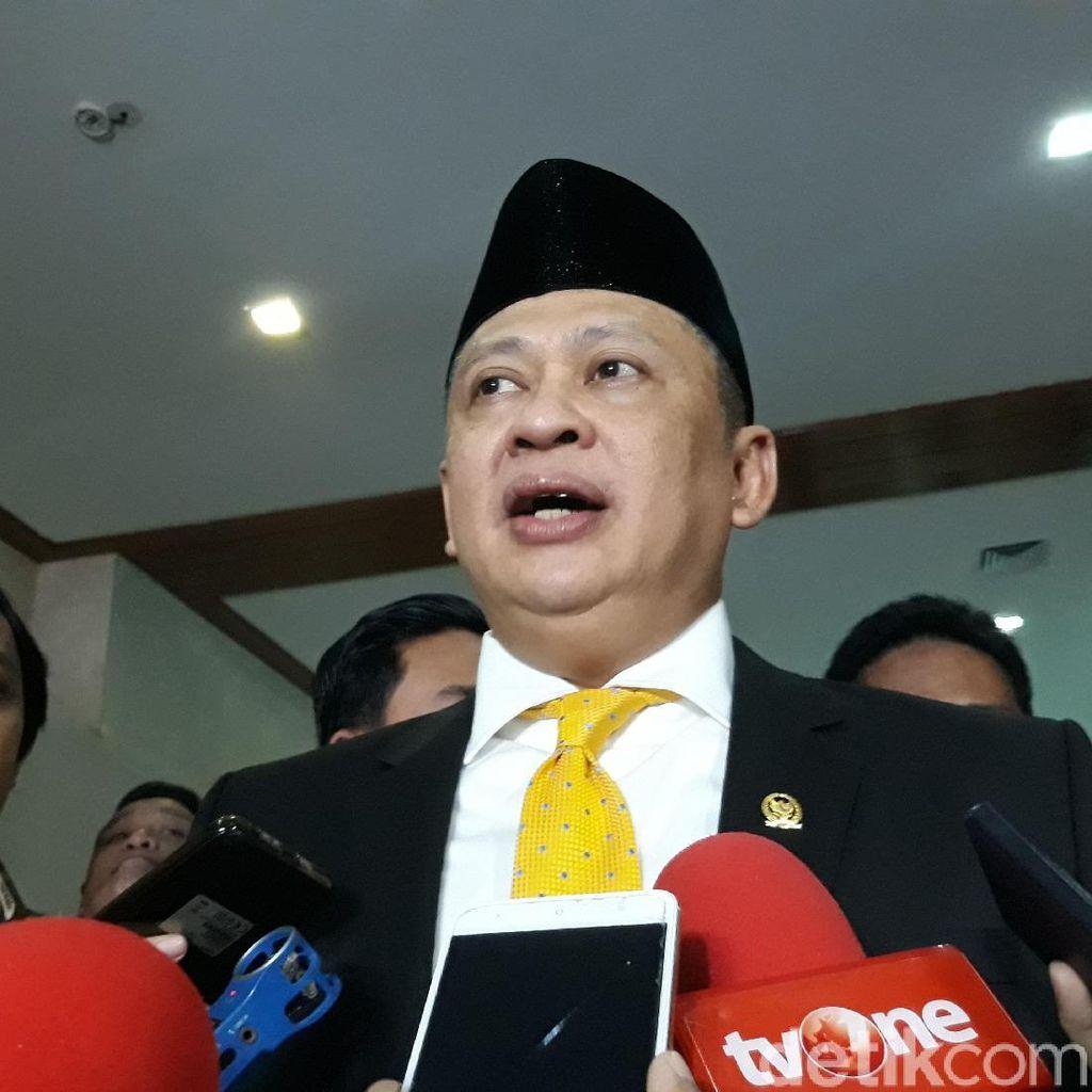 Bamsoet Pastikan Tambahan Kursi Pimpinan DPR dan MPR untuk PDIP