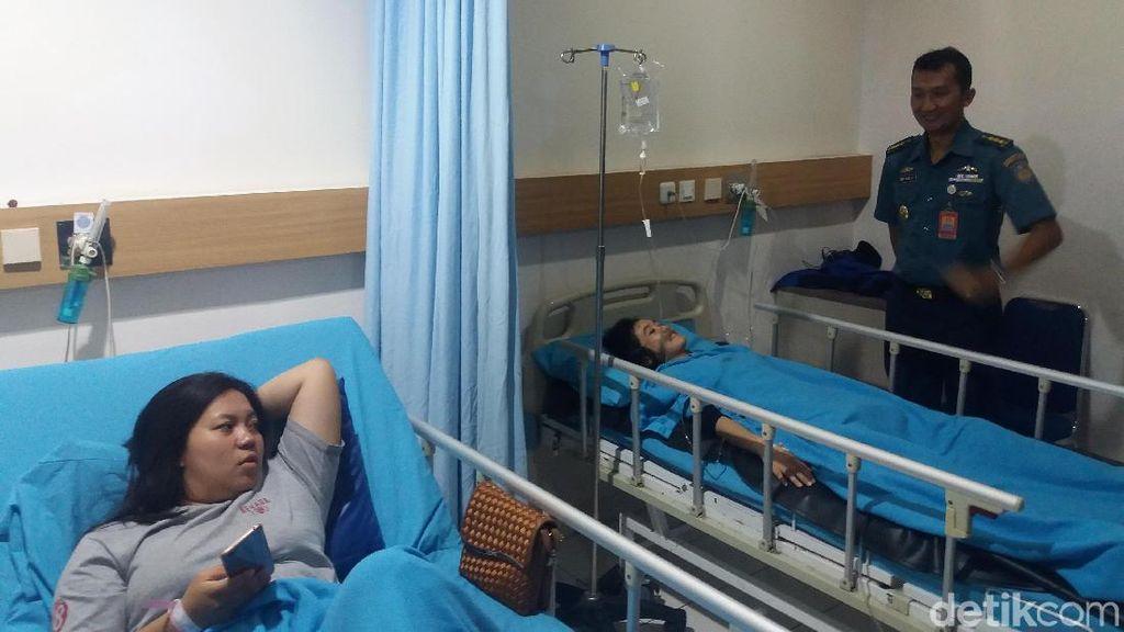 3 Korban Selasar BEI Ambruk Dioperasi Malam Ini di RS Mintohardjo