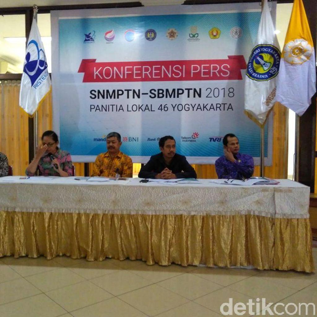 Kuota SNMPTN 2018 5 PTN di Yogyakarta Capai 5.165 Kursi