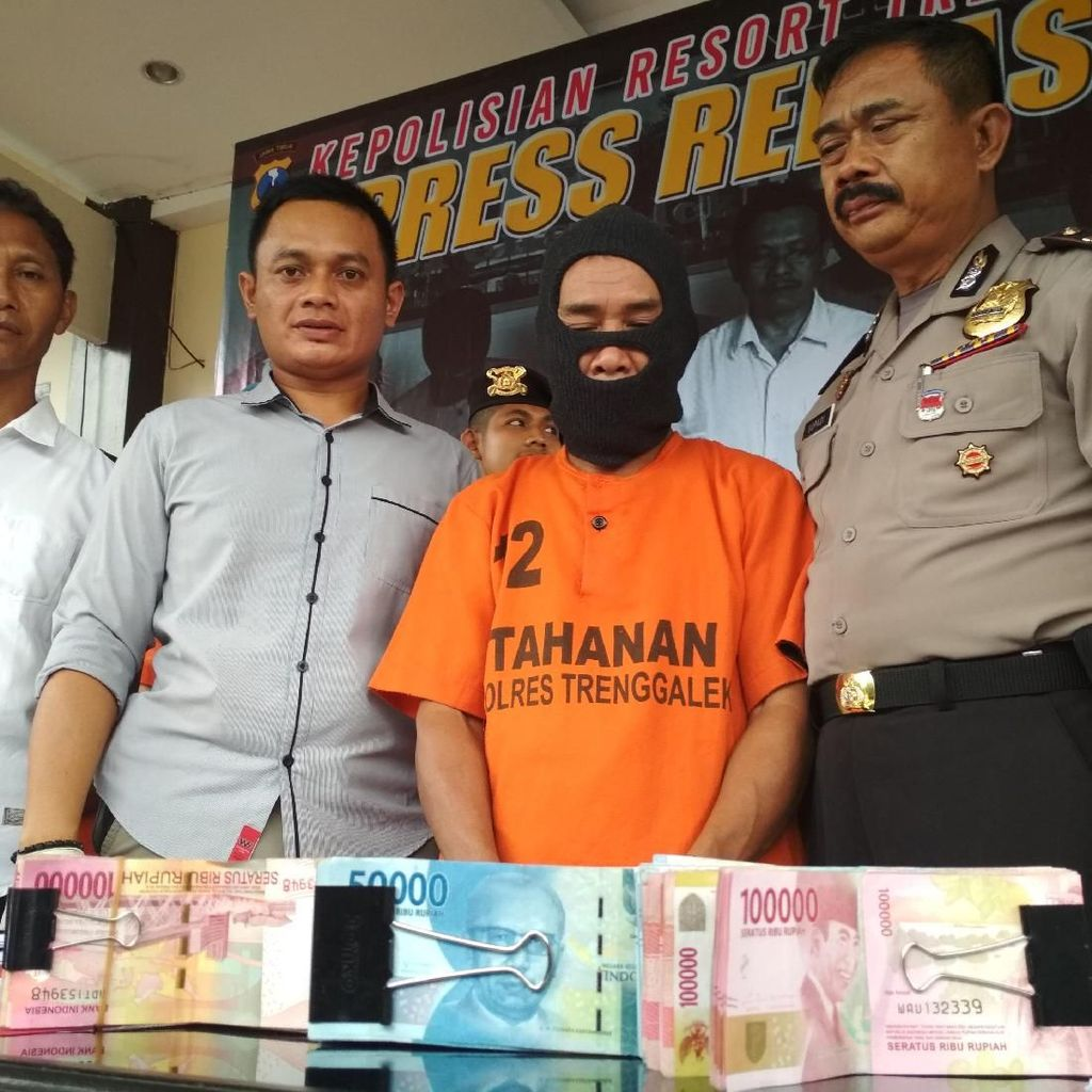 Polisi Tahan Tersangka Korupsi Sapi Bantuan Pemprov Jatim