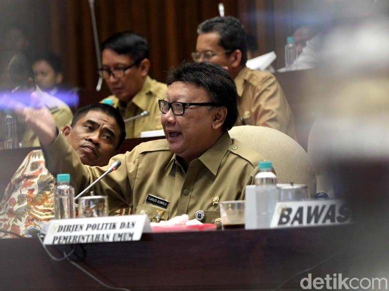 Tolak Terbitkan Perppu Pemilu, Mendagri: KPU Tetap Jalankan UU 7/2017