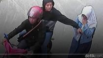 Jambret Ponsel Pelajar Bandung Terekam CCTV, Polisi Cek TKP