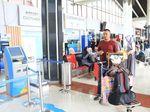 Timbang Bagasi di Bandara Soekarno-Hatta Kini Bisa Dilakukan Sendiri