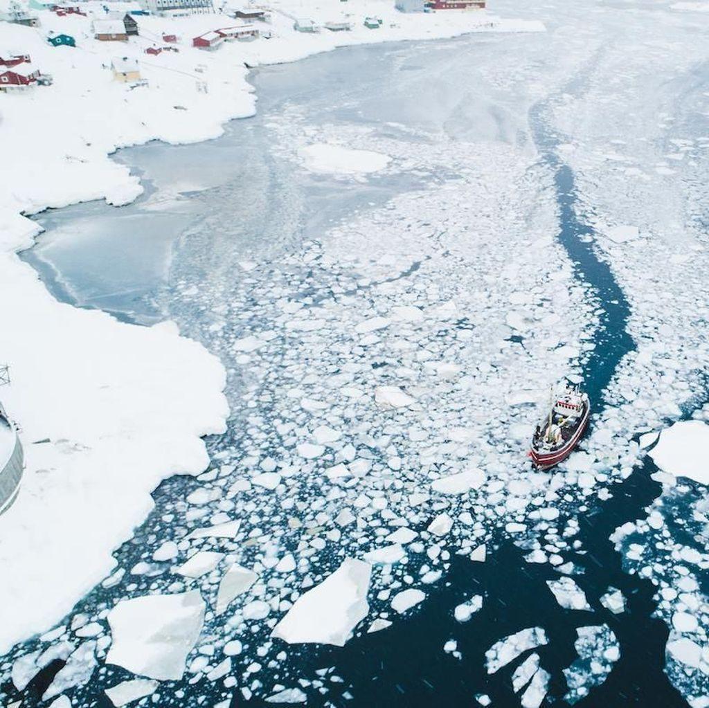 Foto: Keindahan Greenland, Pulau Terbesar di Dunia