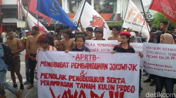 Warga Penolak Bandara Kulon Progo Dipindahkan Sebelum Puasa