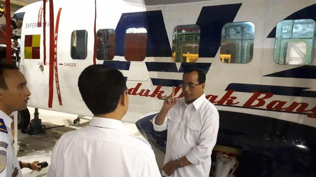 Menhub Minta Pesawat N219 Nurtanio Beroperasi di Papua