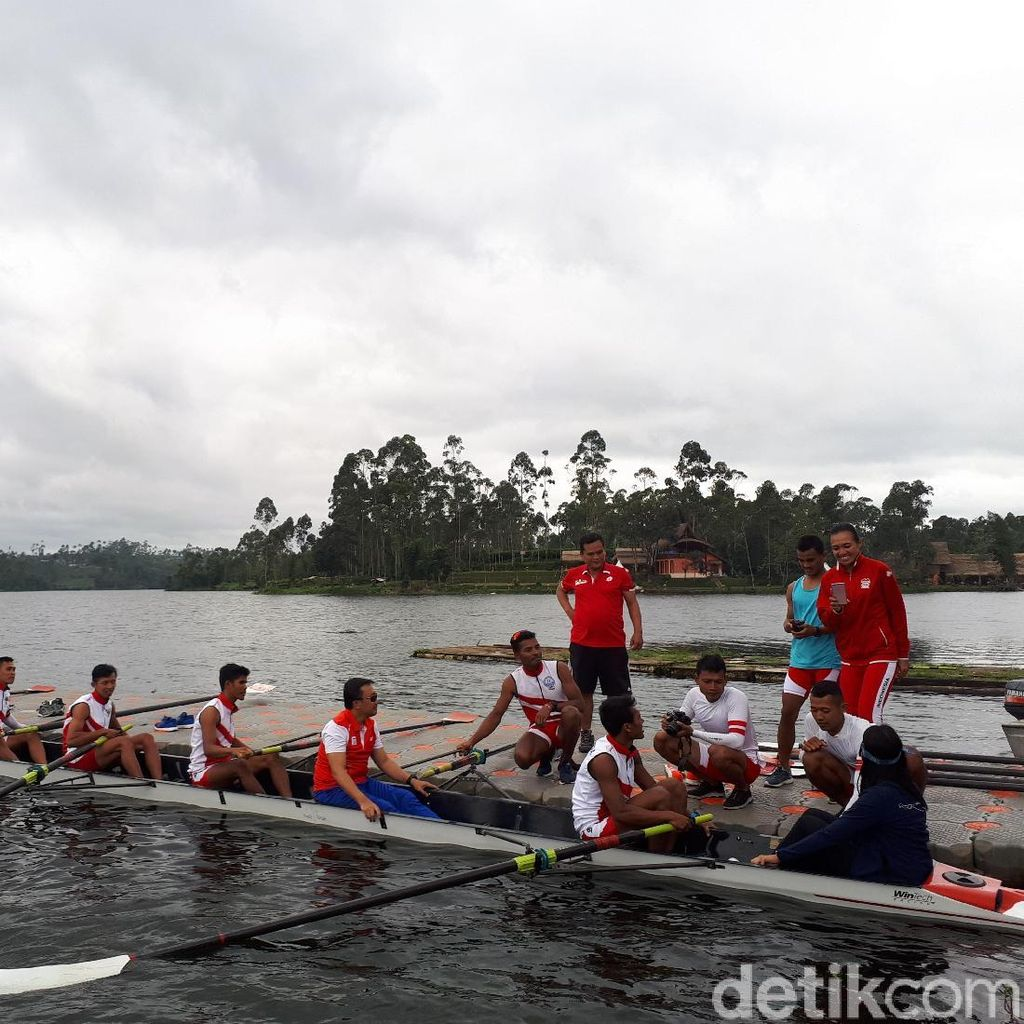 Setelah Perahu Naga dan Kano, Menpora juga Tinjau Pelatnas Rowing
