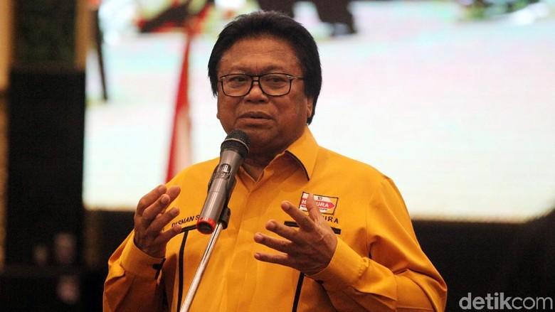 Hanura Kubu Ambhara Dukung Wiranto Jadi Ketum, OSO: Bagus!