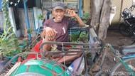 Orang Sunda dan Jawa Kayuh Becak di Jakarta