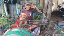 Lega dan Senangnya Tukang Becak Menanti Realisasi Kebijakan Anies