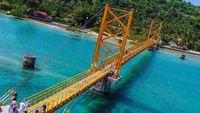 Keren! Ini Lho Jembatan Cinta di Bali