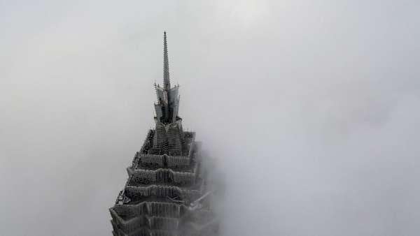 Kabut Selimuti Wilayah Timur China, Ganggu Lalu Lintas