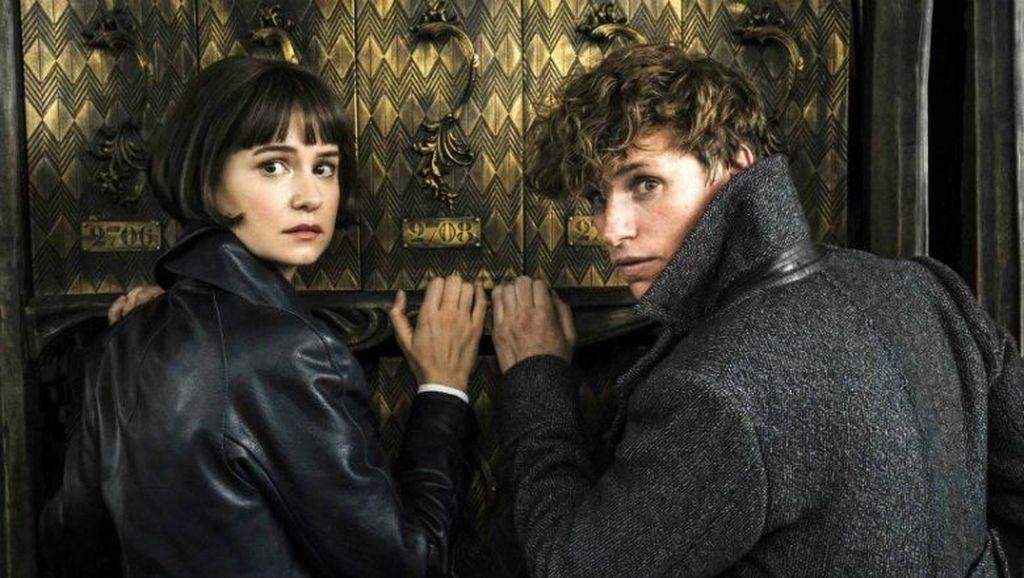 Warner Bros Rilis Foto Terbaru Produksi Sekuel Fantastic Beasts