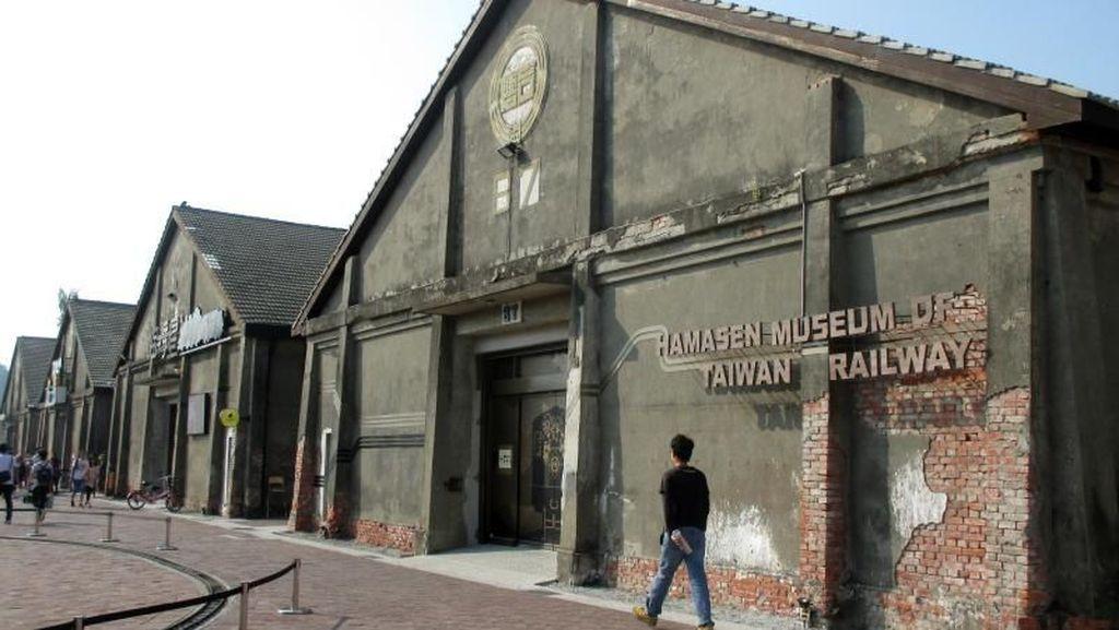 Museum Kereta Api Taiwan, Punya Taman dan Miniatur Keren