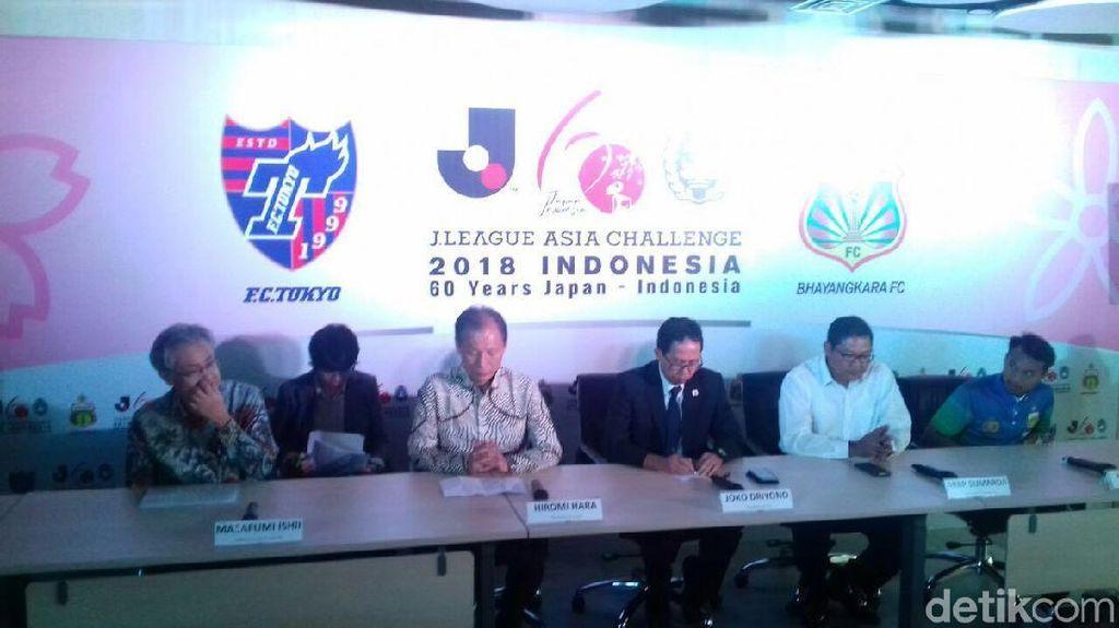 Laga Lawan FC Tokyo Jadi Bentuk Penghormatan PSSI ke Bhayangkara FC