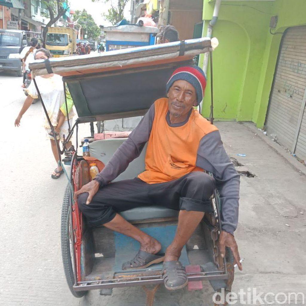 Sejarawan Dukung Kehadiran Becak di Jakarta