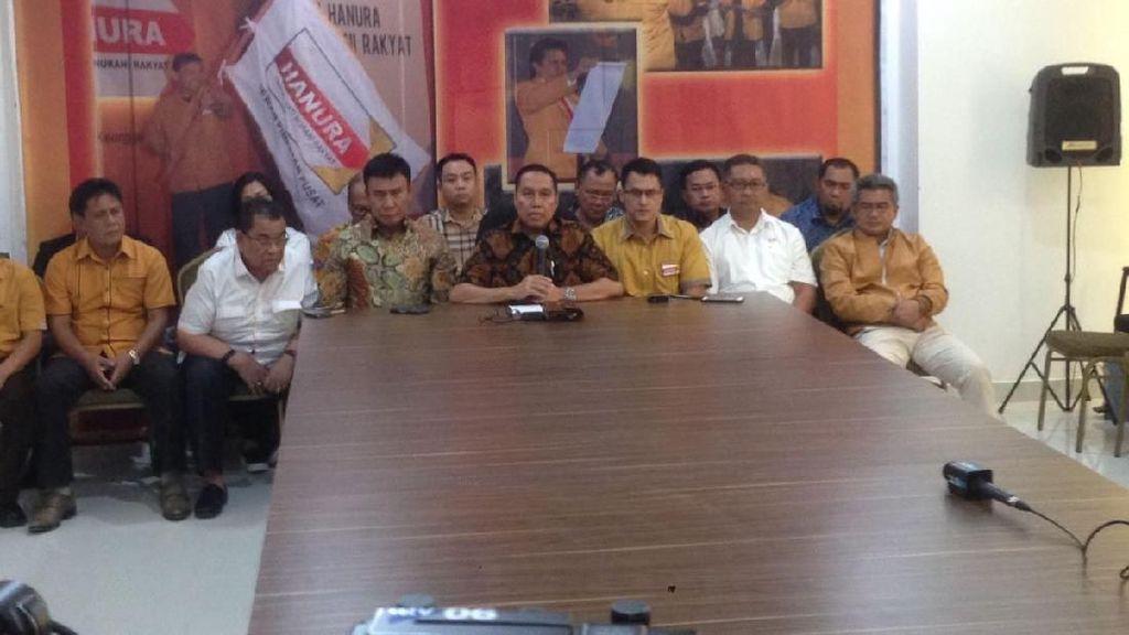 Hanura Kubu Ambhara: Bersama Wiranto Tenang, OSO Buat Muntah