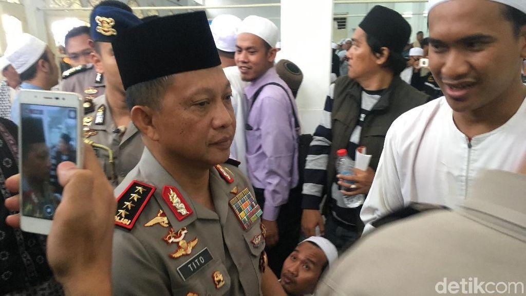 Kapolri Melayat Habib Abdurrahman Kwitang