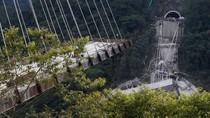 Jembatan di Kolombia Ambruk Saat Masih Dibangun, 9 Pekerja Tewas
