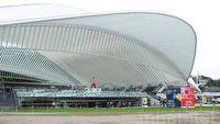 Keren! Stasiun Kereta Cepat di Belgia Ini 'Terbungkus' Kaca