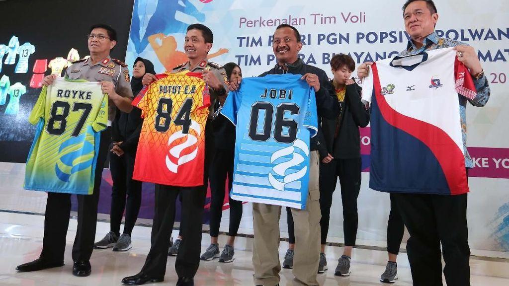 Tim Putri PGN Popsivo Polwan Akan Berlaga di Proliga 2018